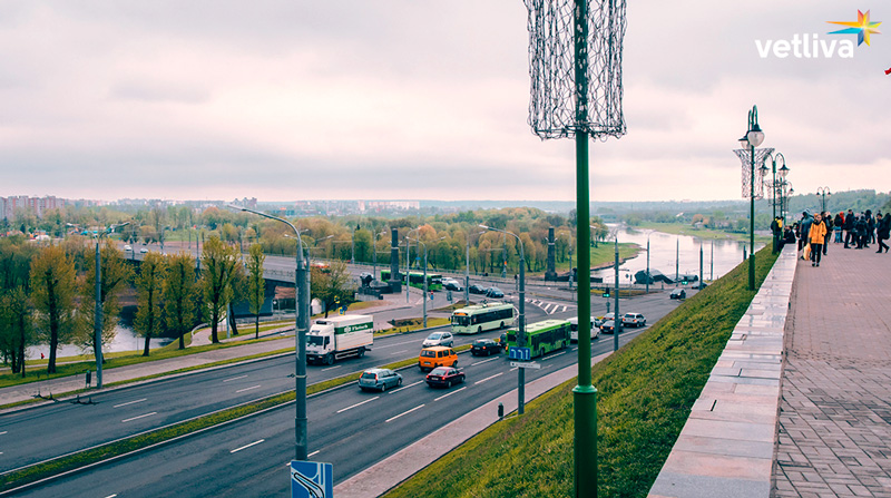 The city of Mogilev