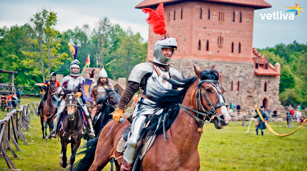 Reconstruction of historical battles in Nesvizh Castle