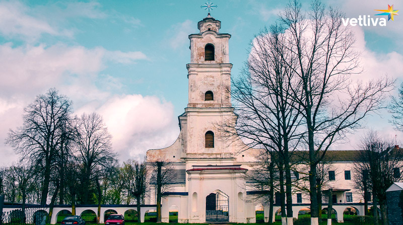 Trinity Church in Druya, Belarus